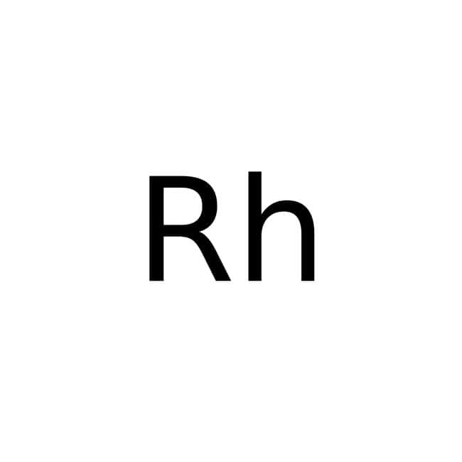 Rhodium, 5% on alumina powder, reduced, Alfa Aesar™