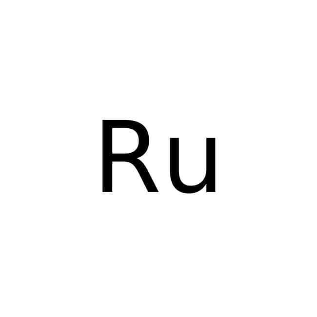 Ruthenium, 99.9%, (trace metal basis), -200 mesh, powder, ACROS Organics