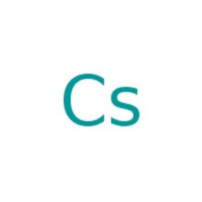 Cesium, 99.98% (metals basis), Alfa Aesar 100g Cesium, 99.98% (metals basis), Alfa Aesar