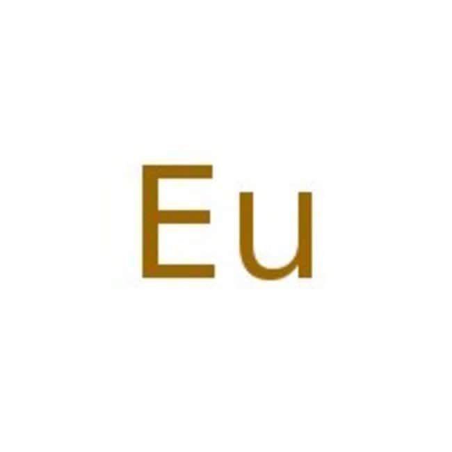 Alfa Aesar™Europium rod, 9.52 mm (0.375 in.) dia., 99.9% (metals basis)