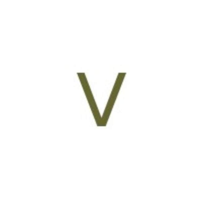 Alfa Aesar™Vanadium rod, 6.35mm (0.25 in.) dia., 99.5% (metals basis) 100cm Alfa Aesar™Vanadium rod, 6.35mm (0.25 in.) dia., 99.5% (metals basis)