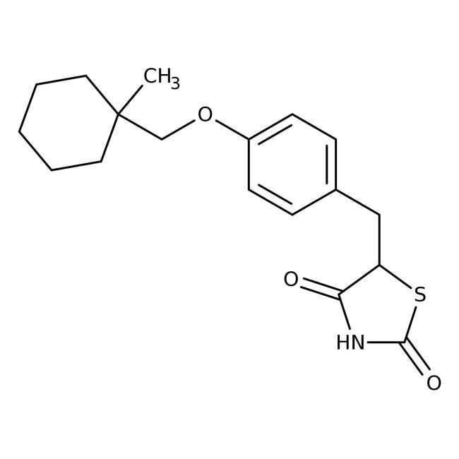 Ciglitazone, Tocris Bioscience™ 10mg Ciglitazone, Tocris Bioscience™