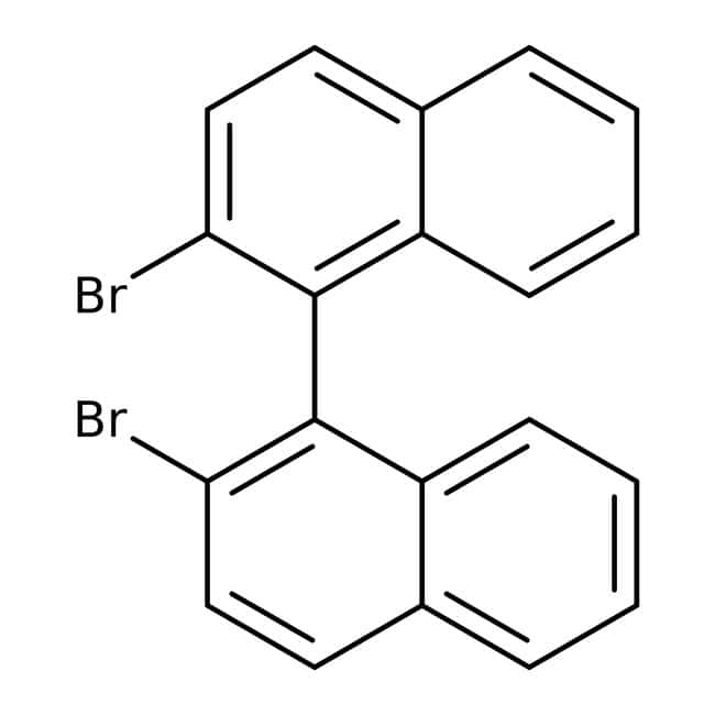 Alfa Aesar™(+/-)-2,2'-Dibromo-1,1'-binaphthyl, 96%