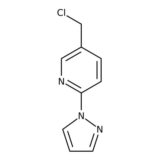 Alfa Aesar  5-Chloromethyl-2-(1H-pyrazol-1-yl)pyridine, 97%