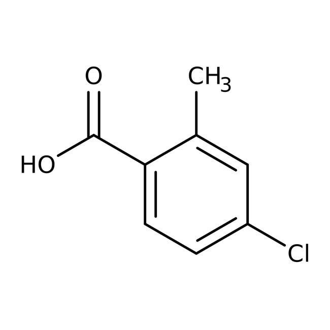 Alfa Aesar™5-Chlor-2-methylbenzoesäure, 98% 5g Alfa Aesar™5-Chlor-2-methylbenzoesäure, 98%