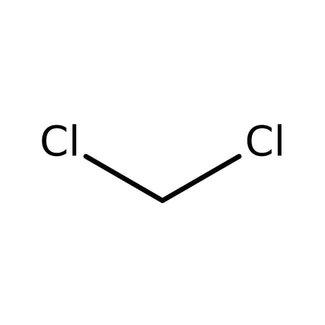 Dichloromethane, 99.8%, for HPLC, stabilized with amylene, ACROS Organics™ 1L; Glass bottle Dichloromethane, 99.8%, for HPLC, stabilized with amylene, ACROS Organics™
