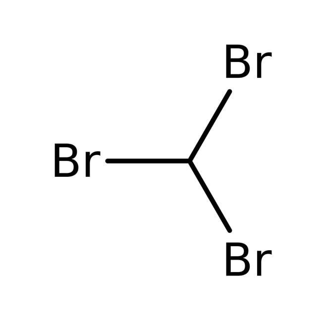 Alfa Aesar™Bromoform, 97%, stab. with ethanol 250g Alfa Aesar™Bromoform, 97%, stab. with ethanol
