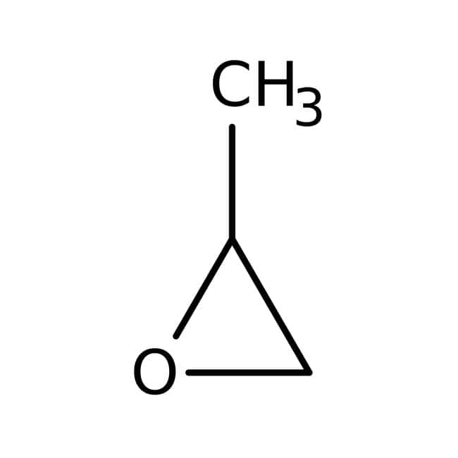 1,2-Epoxypropane, Extra Pure, SLR, Fisher Chemical™ 2.5L, Plastic Coated Glass bottle 1,2-Epoxypropane, Extra Pure, SLR, Fisher Chemical™