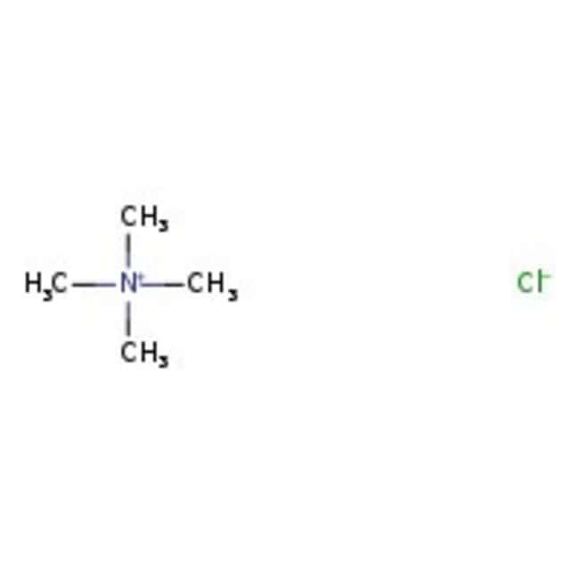 Chlorure de tétraméthylammonium, 98+%, ACROS Organics™ 250g ; flacon en plastique Chlorure de tétraméthylammonium, 98+%, ACROS Organics™