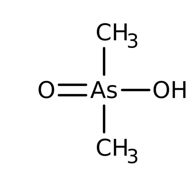 Cacodylic acid, 98%, ACROS Organics™ 50g; Glass bottle Cacodylic acid, 98%, ACROS Organics™