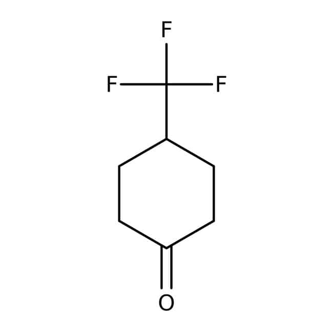 Alfa Aesar™ 4-(Trifluoromethyl)cyclohexanone, 97% 1g Alfa Aesar™ 4-(Trifluoromethyl)cyclohexanone, 97%