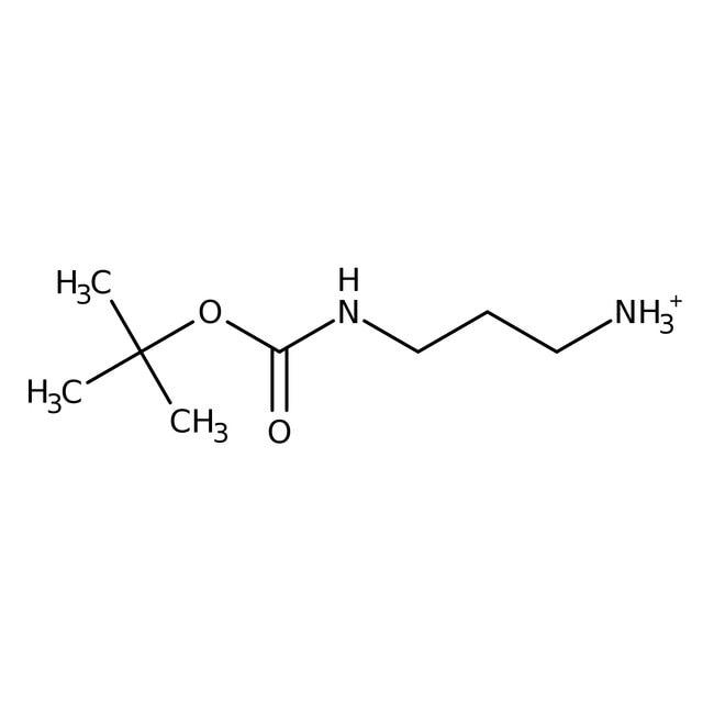 N-BOC-1,3-diaminopropane, 97%, ACROS Organics™ 5mL; Glass bottle N-BOC-1,3-diaminopropane, 97%, ACROS Organics™