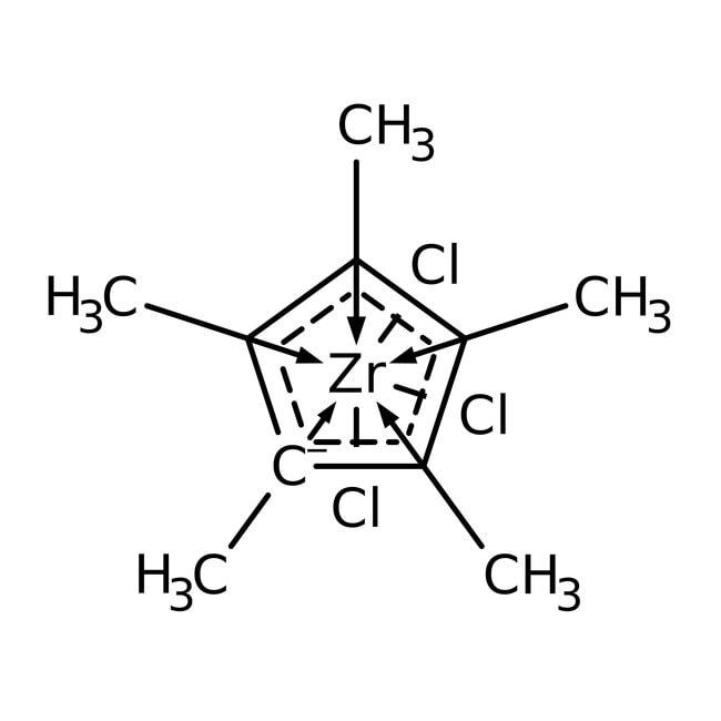 Alfa Aesar  Pentamethylcyclopentadienylzirconium trichloride, 99%
