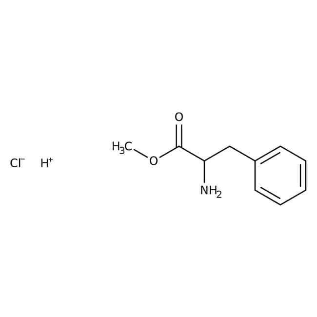 L-Phenylalanine methyl ester hydrochloride, 98%, ACROS Organics
