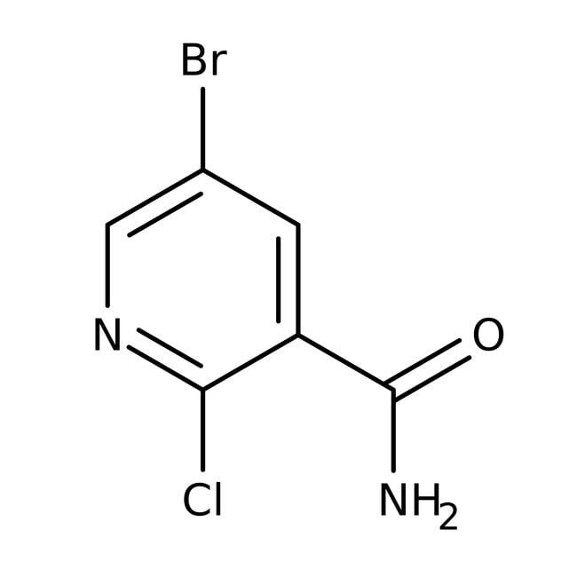 5-Brom-2-chlorpyridin-3-carboxamid, 97%, Acros Organics™  5-Brom-2-chlorpyridin-3-carboxamid, 97%, Acros Organics™
