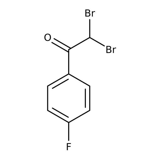 Alfa Aesar™2,2-dibromo-4'-fluoroacétophénone, 98% 5g Alfa Aesar™2,2-dibromo-4'-fluoroacétophénone, 98%