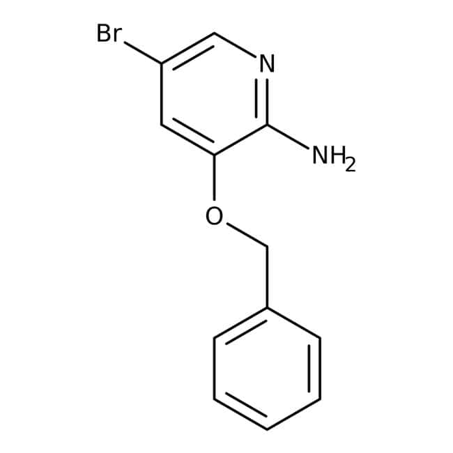 Alfa Aesar™2-Amino-3-benzyloxy-5-bromopyridine, 96%