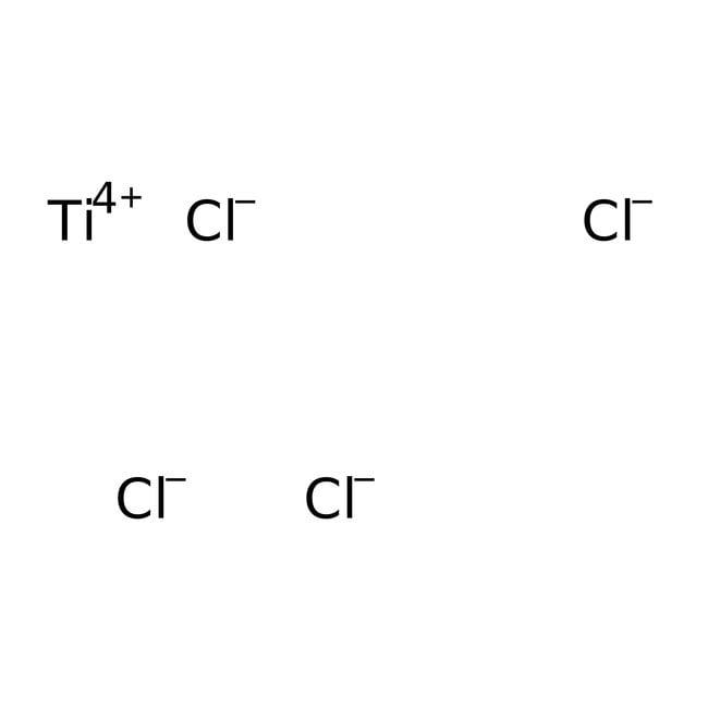 Titanium(IV) chloride, 0.09M solution in 20% HCl, AcroSeal™, ACROS Organics™ 100mL; AcroSeal glass bottle Inorganic Salts