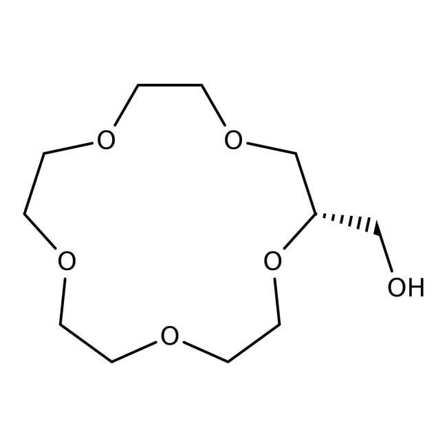 Alfa Aesar™2-Hydroxymethyl-15-crown-5, 98%
