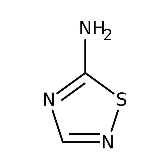 5-Amino-1,2,4-thiadiazole, 97%, Acros Organics 5g, Glass bottle 5-Amino-1,2,4-thiadiazole, 97%, Acros Organics