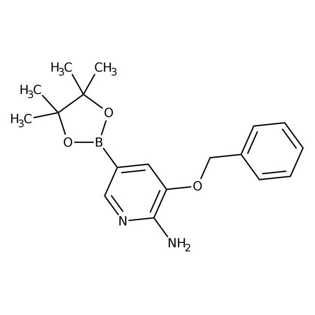 Alfa Aesar™2-Amino-3-benzyloxypyridine-5-boronic acid pinacol ester, 96%