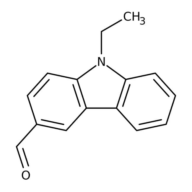 N-Ethyl-3-carbazolecarboxaldehyde, 94%, Tech., ACROS Organics™ 100g; Glass bottle N-Ethyl-3-carbazolecarboxaldehyde, 94%, Tech., ACROS Organics™