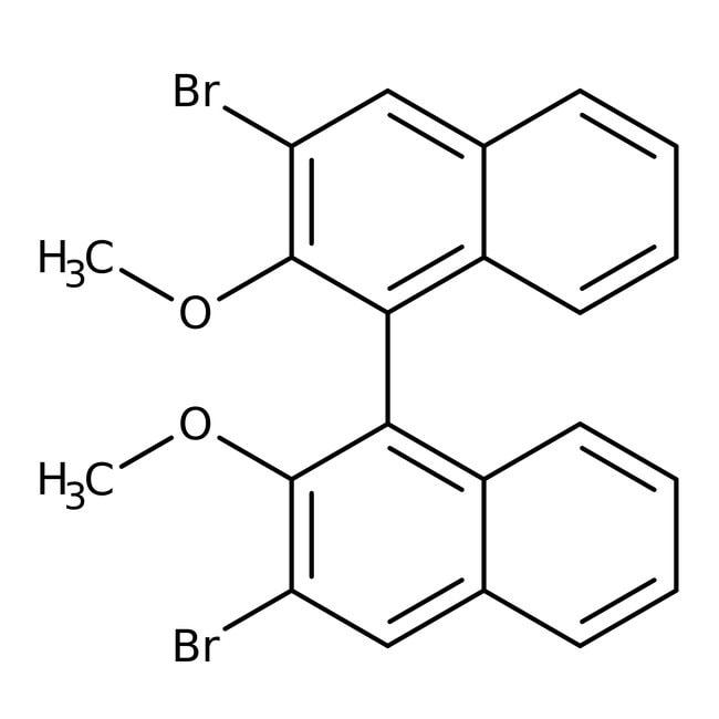 (S)-3,3′-Dibromo-2,2′-dimethoxy-1,1′-binaphthyl 98.0+%, TCI America™