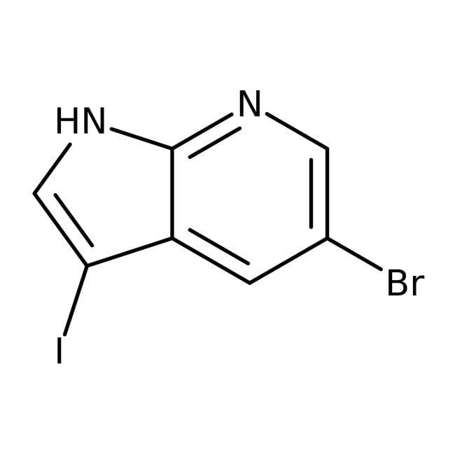 Alfa Aesar™5-Bromo-3-iodo-7-azaindole, 97% 250mg Alfa Aesar™5-Bromo-3-iodo-7-azaindole, 97%