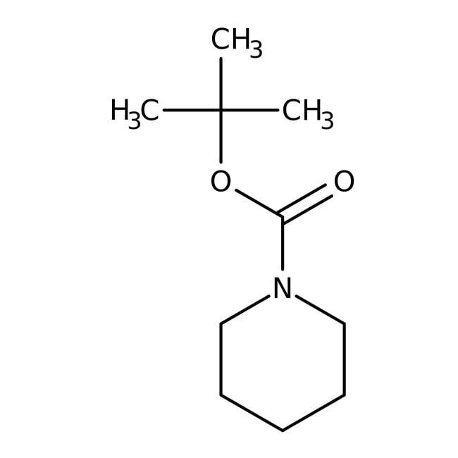 1-BOC-Piperidine, 97%, ACROS Organics™