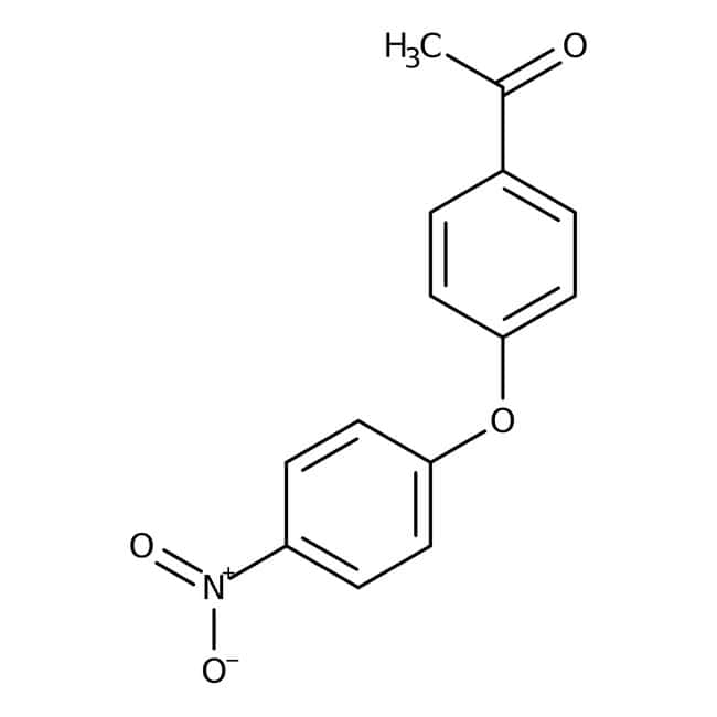 Alfa Aesar™4-Acetyl-4'-nitrodiphenyl ether, 97% 5g Alfa Aesar™4-Acetyl-4'-nitrodiphenyl ether, 97%