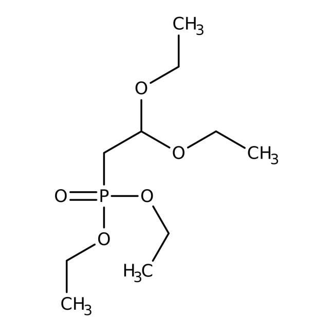 Alfa Aesar™Diethyl 2,2-diethoxyethylphosphonate, 96% 10g Alfa Aesar™Diethyl 2,2-diethoxyethylphosphonate, 96%