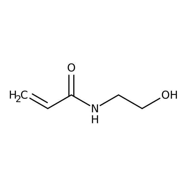 N-(2-Hydroxyethyl)acrylamide (stabilized with MEHQ) 98.0+%, TCI America™