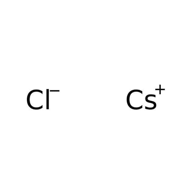 Cesium chloride, 99+%, for analysis, ACROS Organics™