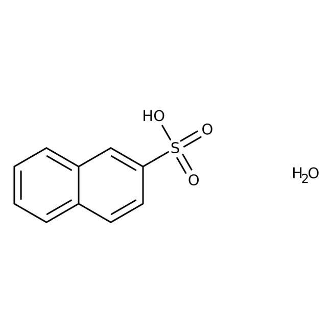 2-Naphthalenesulfonic acid hydrate, 90%, Technical, ACROS Organics™