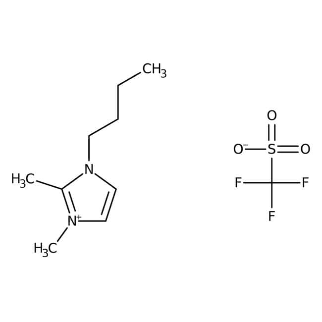 1-Butyl-2,3-dimethylimidazolium trifluoromethansulfonate, 96%, ACROS Organics