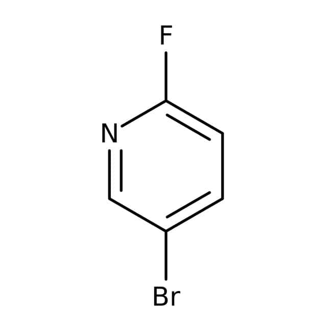 5-Bromo-2-fluoropyridine, 99%, Acros Organics 25g; Glass bottle 5-Bromo-2-fluoropyridine, 99%, Acros Organics