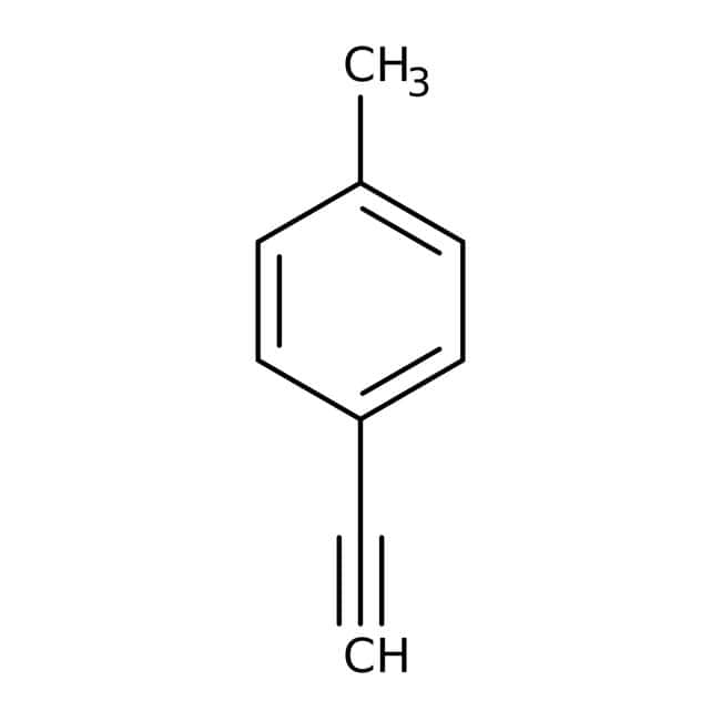 p-Tolylacetylene, 97%, ACROS Organics™ 25g, Glass bottle p-Tolylacetylene, 97%, ACROS Organics™