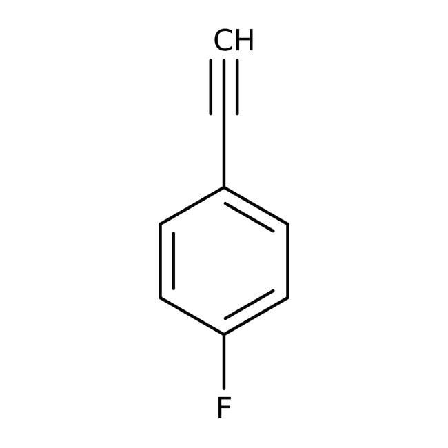 1-Ethynyl-4-fluorobenzene, 98%, ACROS Organics™