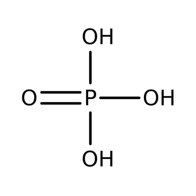 Phosphoric acid, for analysis, 85 wt% solution in water, ACROS Organics