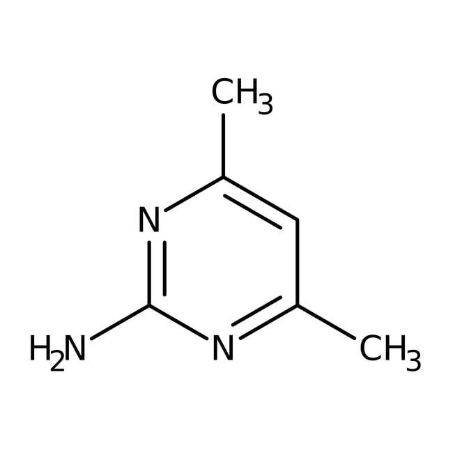 2-Amino-4,6-dimethylpyrimidine, 98%, ACROS Organics™