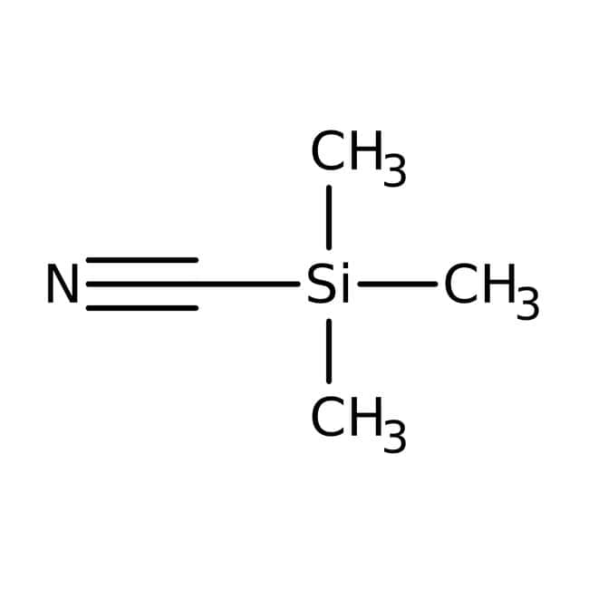 Trimethylsilyl cyanide, 98%, ACROS Organics