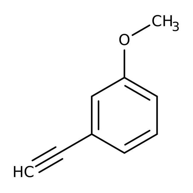 Alfa Aesar™3-Methoxyphenylacetylene, 96%