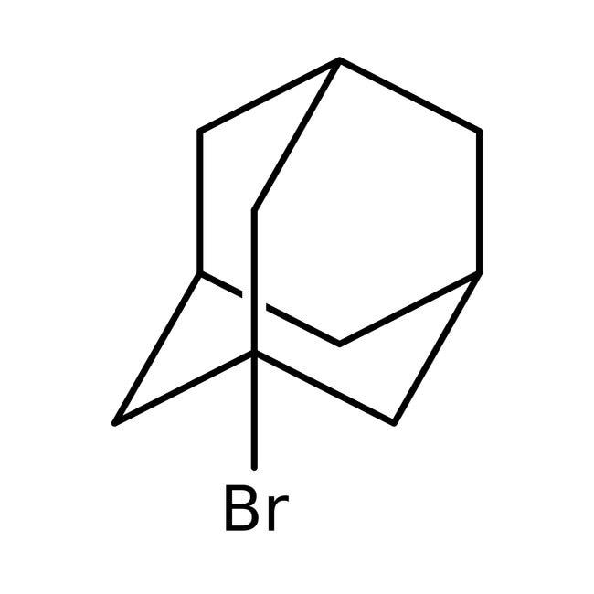 1-Bromoadamantano, 99%, ACROS Organics™ 25g; frasco de vidrio 1-Bromoadamantano, 99%, ACROS Organics™