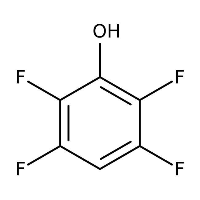 2,3,5,6-Tetrafluorophenol, 98%, ACROS Organics™ 5g; Glass bottle 2,3,5,6-Tetrafluorophenol, 98%, ACROS Organics™