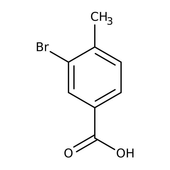 3-Brom-4-Methylbenzoesäure, 98%, ACROS Organics™ 25g 3-Brom-4-Methylbenzoesäure, 98%, ACROS Organics™