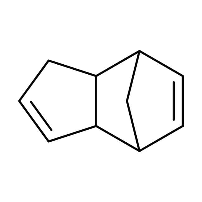 Dicyclopentadiene, 95%, stabilized with 100-200 ppm 4-tert-Butylcatechol, ACROS Organics™ 10L; Plastic jerry can Dicyclopentadiene, 95%, stabilized with 100-200 ppm 4-tert-Butylcatechol, ACROS Organics™