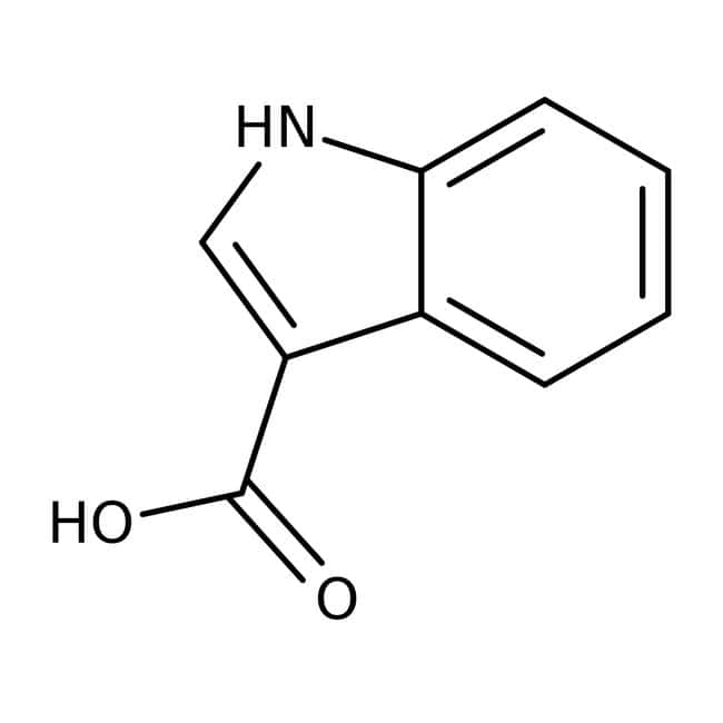 Acide 1H-Indole-3-carboxylique 97 %, Maybridge: Pyrrole carboxylic acids and derivatives Pyrroles