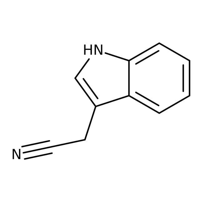3-Indolylacetonitrile, 97%, ACROS Organics™ 25g 3-Indolylacetonitrile, 97%, ACROS Organics™