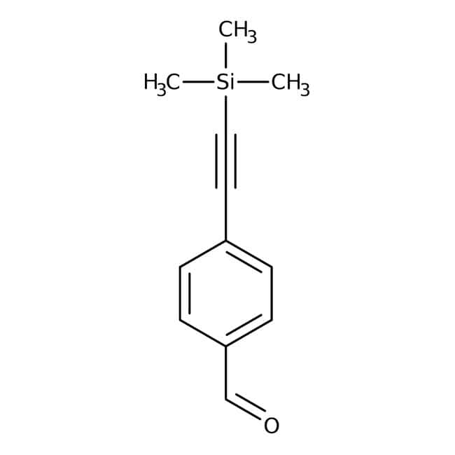 4-[(Trimethylsilyl)ethynyl]benzaldehyde, 97%, Alfa Aesar™