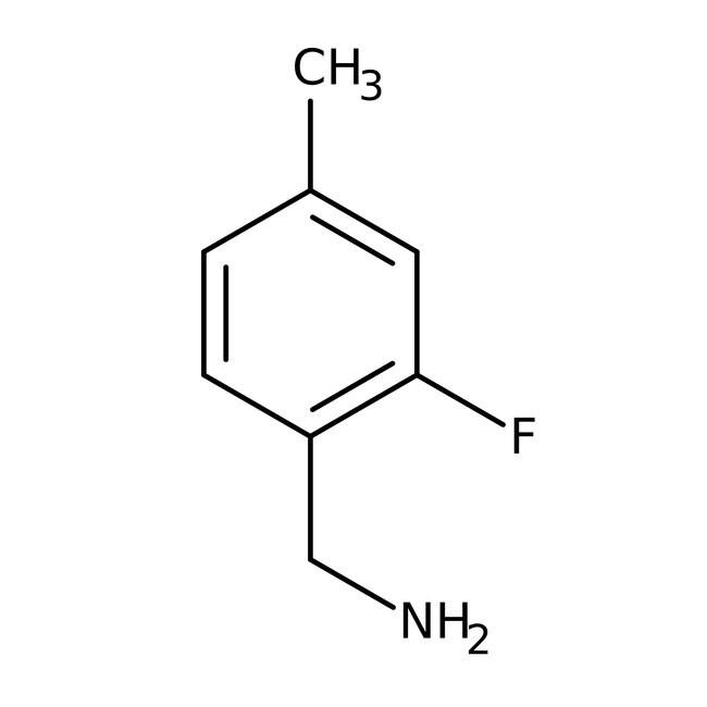 Alfa Aesar™2-Fluoro-4-méthylbenzylamine, 97 % 250mg Alfa Aesar™2-Fluoro-4-méthylbenzylamine, 97 %